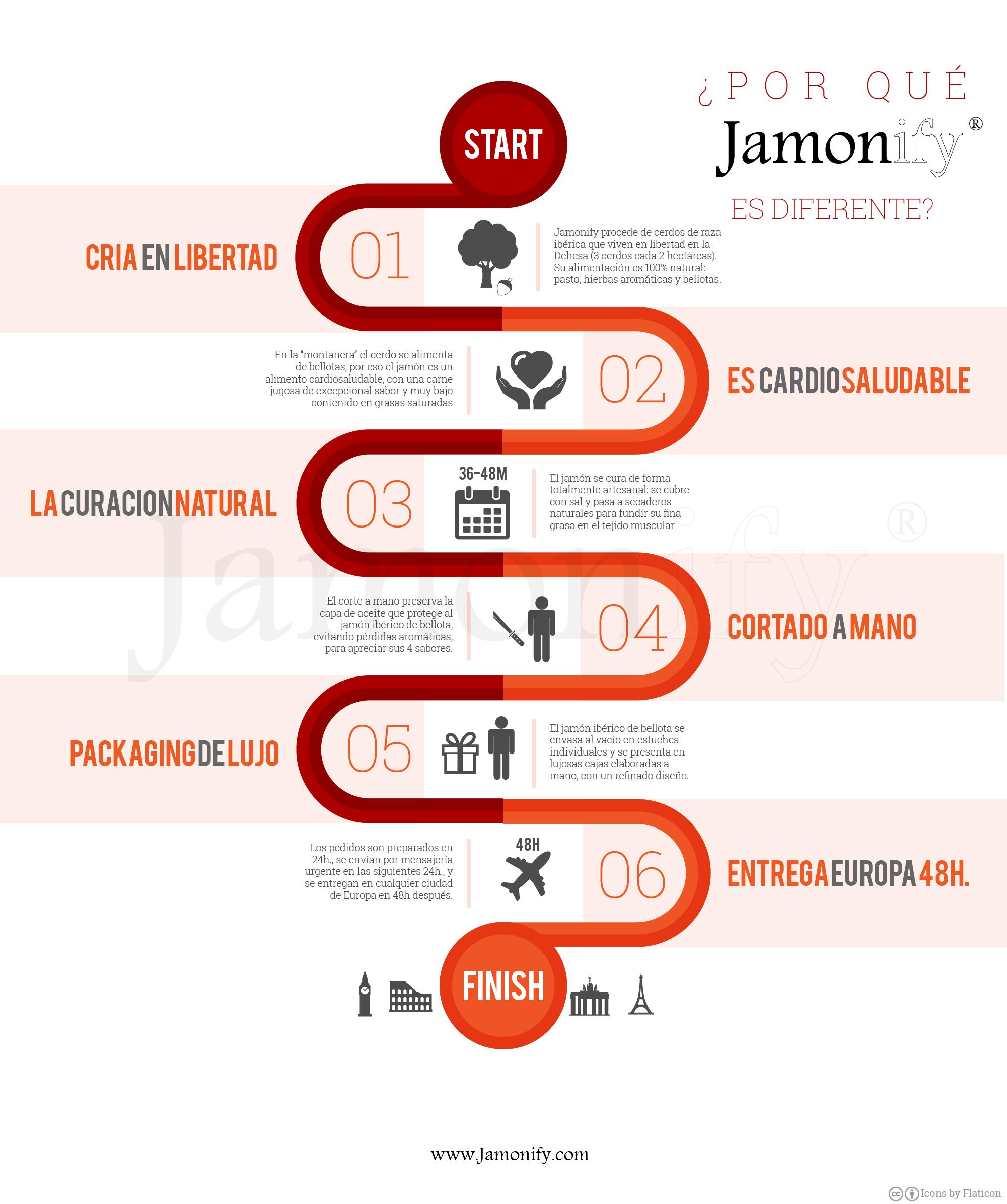 ¿Por qué Jamonify es diferente?