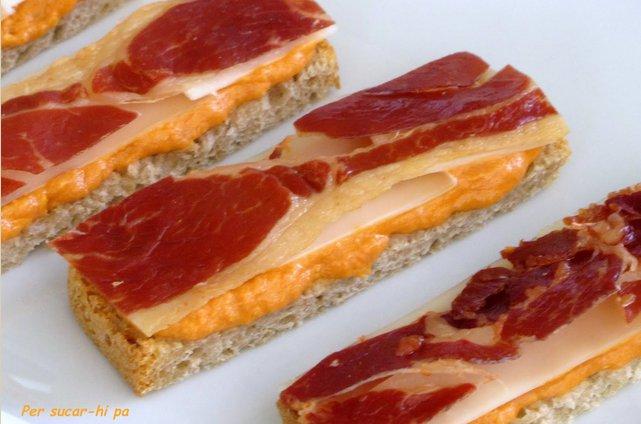 Montaditos cocinar en casa es - Platos con jamon iberico ...