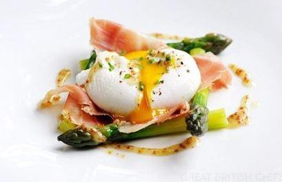 huevos y jamon iberico